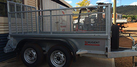 complete range of nugent trailers
