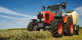 new tractors and farming machinery